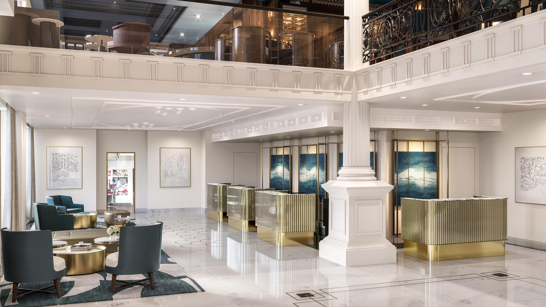 Grand Hotel Wien Framed Framed Architectural Visualisation Studio